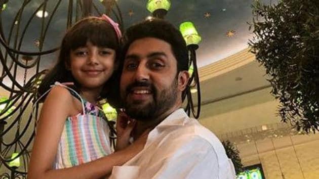 Abhishek Bachchan has an eight-year-old daughter Aaradhya with wife Aishwarya Rai Bachchan.