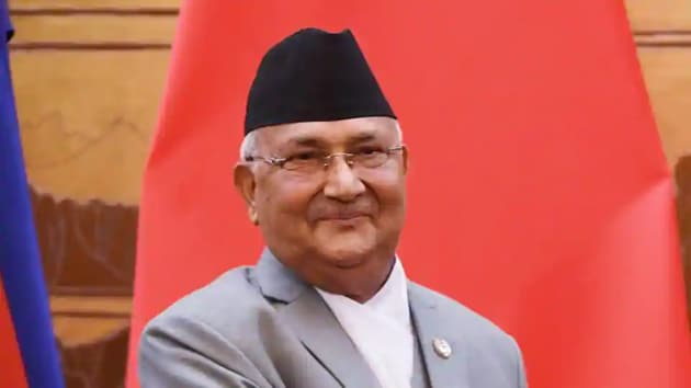Nepal PM Oli absented himself from the meeting of the NCP's powerful standing committee though the party panel was meeting at his official residence.(Reuters)