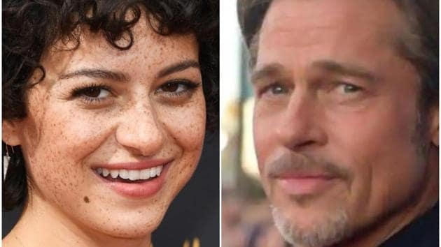 Alia Shawkat and Brad Pitt were first spotted together at an art exhibition last year.