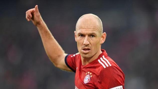 Arjen Robben.(REUTERS)