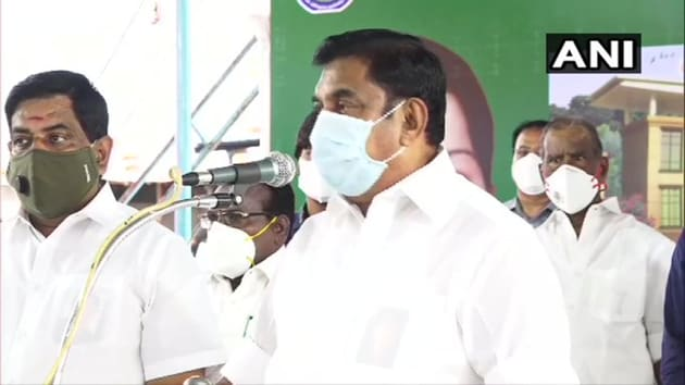 Tamil Nadu chief minister EK Palaniswami (right) said on June 28 that the case of alleged custodial deaths of a father-son duo in Tuticorin will be transferred to CBI after Madras HC nod.(ANI)