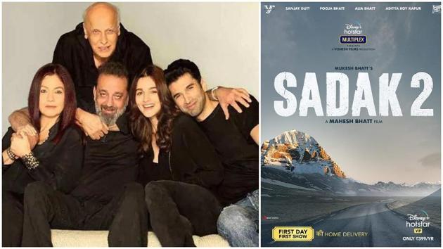 Sadak 2 will release on Disney+ Hotstar.