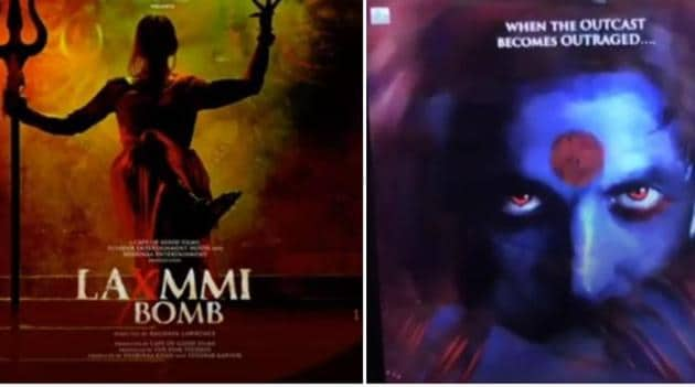Akshay Kumar shared new Laxmmi Bomb posters.