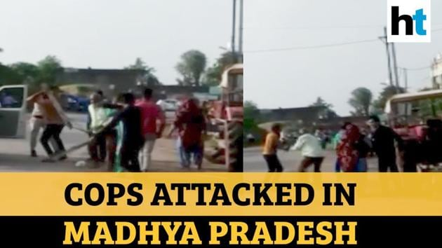 Policemen were attacked in Madhya Pradesh's Dewas, allegedly by members of the sand mafia. 2 police personnel and their driver were attacked with sticks after they reportedly tried to stop a tractor laden with illegally mined sand. Police said that 5 people had been identified and they would be arrested after filing of a First Information Report (FIR). Last year, a Madhya Pradesh minister had reportedly said that the state loses 5-10 crores every day due to illegal sand mining.