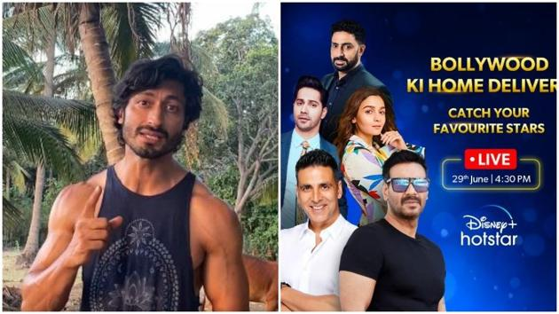 Vidyut Jammwal says his film Khuda Hafiz did not get an invite for the Disney+ Hotstar event.