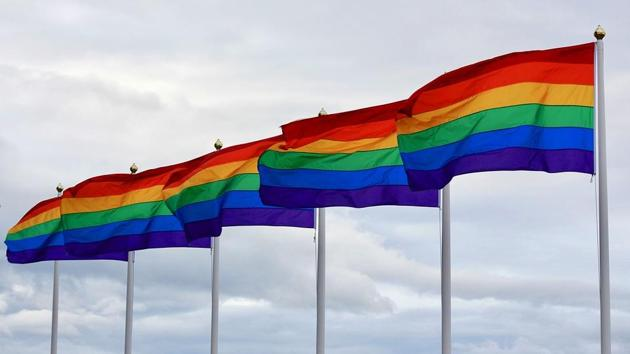 Pride 2020: Spanish village makes its own rainbow after council's gay pride flag... thumbnail