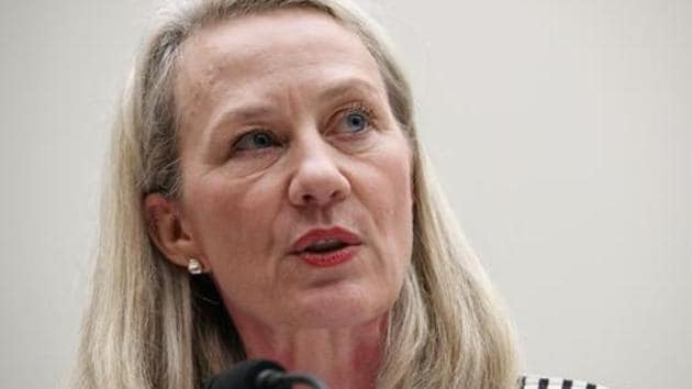 Alice Wells, a career diplomat who retired as the acting assistant secretary of state for South and Central Asia last month, made the remarks on Twitter.(AP)
