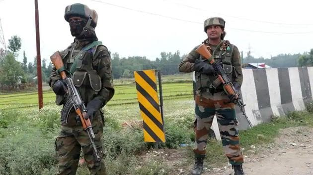 An encounter between terrorists is underway in Jammu and Kashmir's Anantnag.(ANI File Photo)