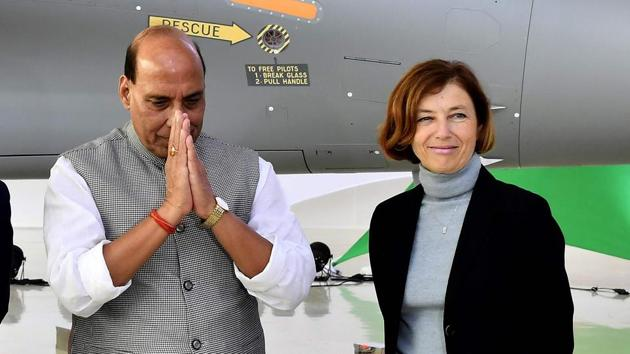 """India-China border standoff: French defence minister Florence Parly recalled that India is France's strategic partner in the region and reiterated France's """"deep solidarity"""" in the letter.(AFP)"""
