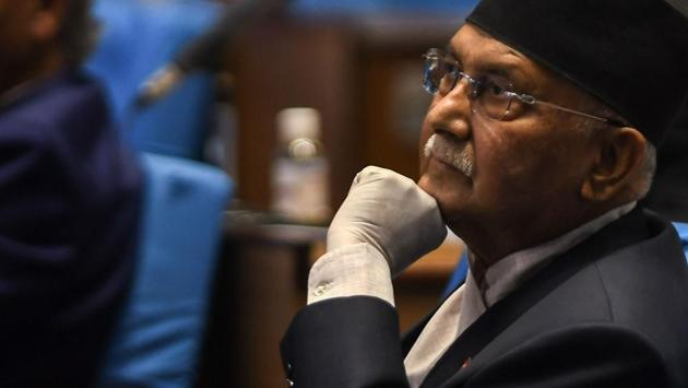 Nepal's Prime minister KP Sharma Oli has been trying to blame India for the demands of resignation rising within his own party.(AFP file photo)