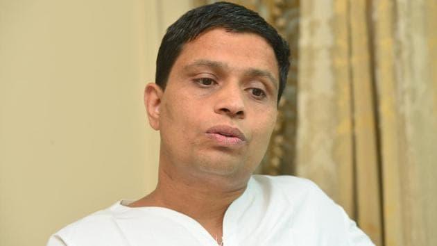Acharya Balkrishna, the chief executive officer of Patanjali(HT photo)