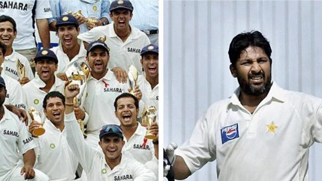 File image of India Cricket Team and Inzamam-ul-Haq.(Getty/HT Collage)