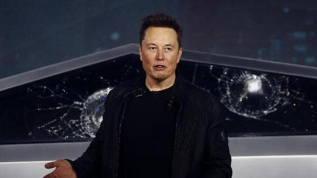 Led by Elon Musk, Tesla has seen ups and downs but its shares have risen steadily since late 2019(AP)