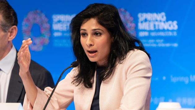 Gita Gopinath, chief economist with the International Monetary Fund (IMF) has warned of a prolonged recovery.(Bloomberg)