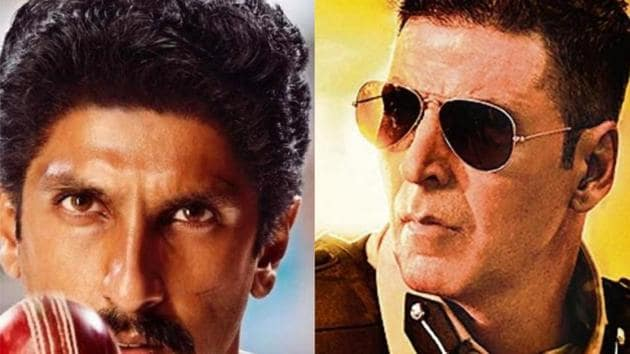 '83 and Sooryavanshi are the only two films whose release dates have been announced for this year