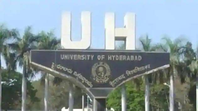 University of Hyderabad. (File photo)