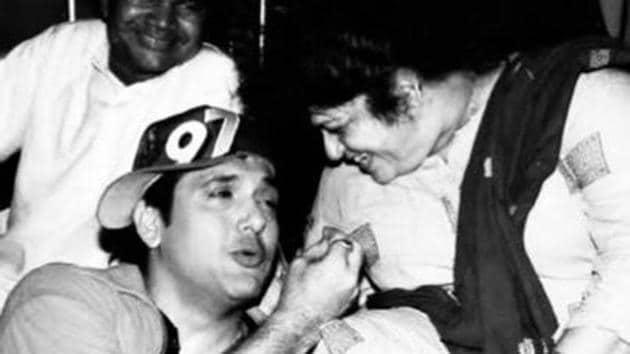 Govinda had said that Saroj Khan taught him to romance on screen.