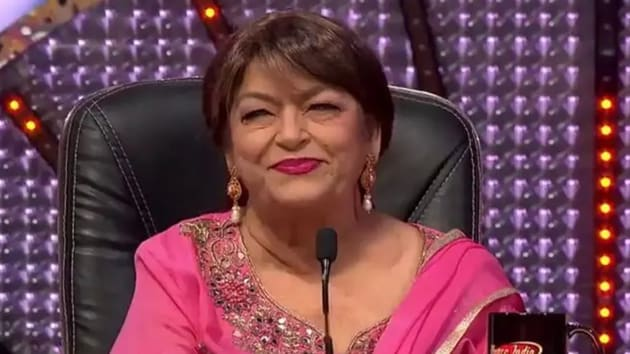 Saroj Khan got her first break as an independent choreographer with Geeta Mera Naam in 1974.