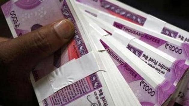 The rupee opened at 74.60 against the US dollar, registering a jump of 44 paise over its previous close.(REUTERS)