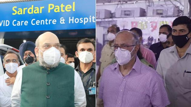 The inauguration of the world's largest Covid Care facility was done by the Lieutenant Governor of Delhi Anil Baijal.