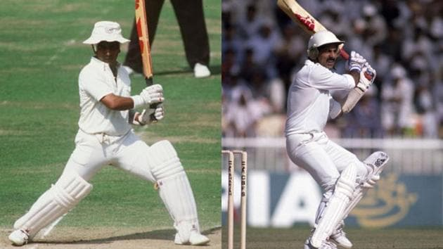 Srikkanth and Gavaskar opened the innings 55 times for India, scoring 1680 runs at an average of 30.54.(Getty Images)