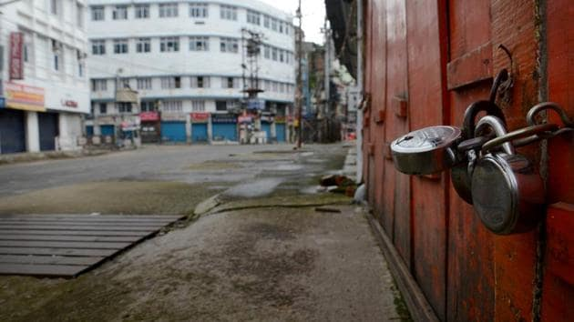 A view of the closed Fancy Bazar during the total lockdown imposed by the Assam Government to curb the spread of the novel coronavirus, in Guwahati.(PTI/Image for Representative Purposes Only)