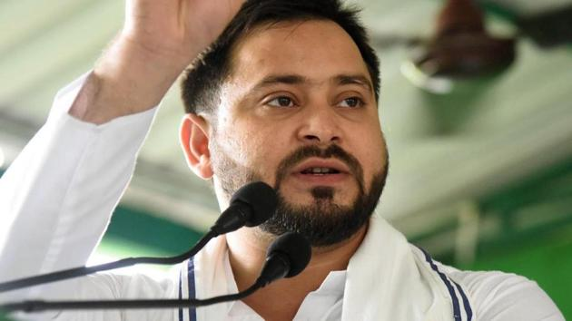 The Congress has suggested a state-wide survey to identify the face of the alliance after some of its leaders voiced their opposition to Rashtriya Janata Dal (RJD) leader Tejashwi Yadav's name.(Santosh Kumar/HT Photo)