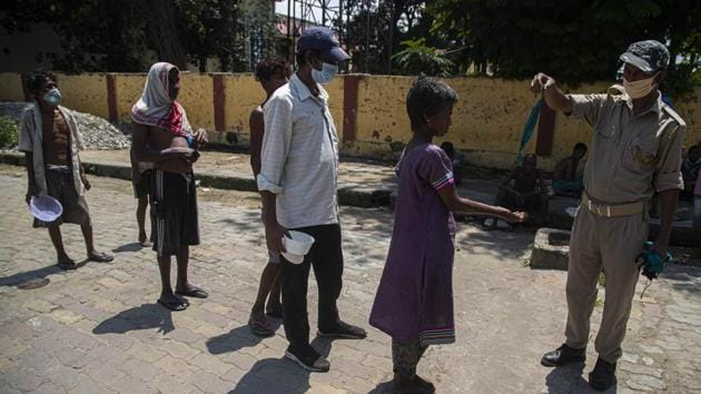 Andhra also saw 12 coronavirus-related deaths, taking the toll to 218. The 12 deaths were the highest in a day in the state till Sunday, when it was topped by 14 fatalities.(AP)