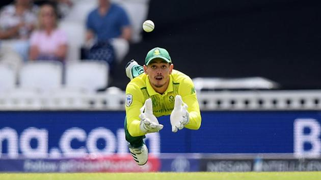 South Africa wicketkeeper batsman Quinton de Kock.(Getty Images)