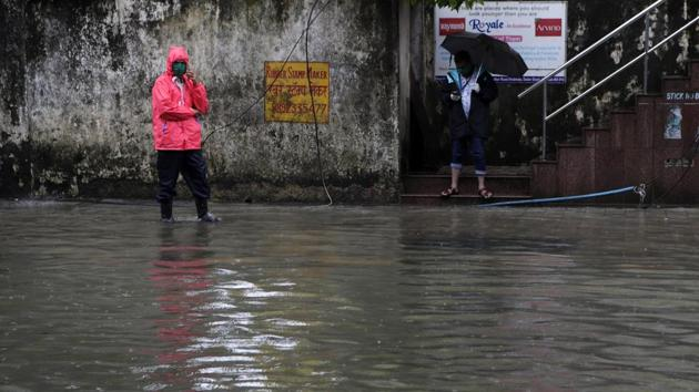 The IMD predicted heavy to very heavy rainfall in isolated places in Saurashtra, north and south Gujarat over the next three days.(AP file photo. Representative image)