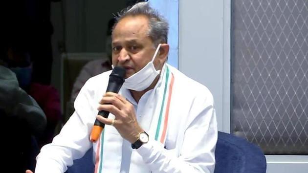 IAS officer DB Gupta is Rajasthan CM Ashok Gehlot's new adviser.(ANI File Photo)