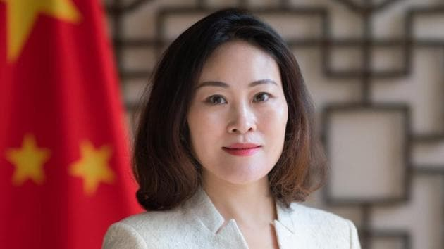 China's ambassador Hou Yanqi has stepped up efforts to prevent Nepal PM KP Sharma Oli from falling and splitting the Nepal Communist Party(Twitter/@PRCAmbNepal)