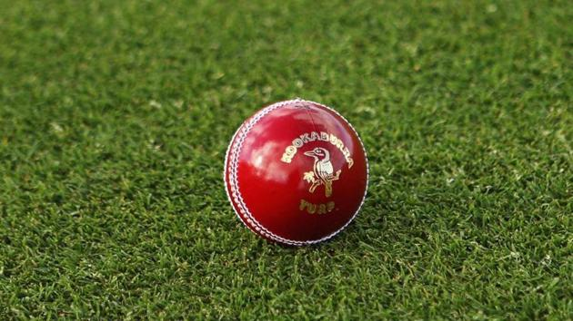 A general view of a Kookaburra turf four piece cricket ball. (Representative photo)(Getty Images)