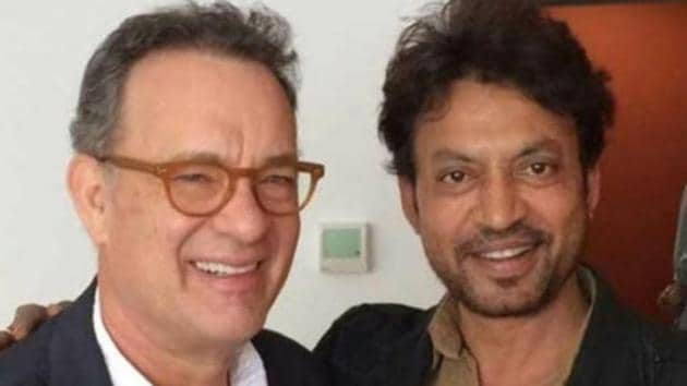 Tom Hanks and Irrfan Khan worked together in the 2016 film Inferno.