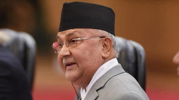 Nepal Prime Minister KP Sharma Oli, who has been targeted by his rivals in the Nepal Congress Party, has made it clear that he won't give up the PM post(Getty Images)