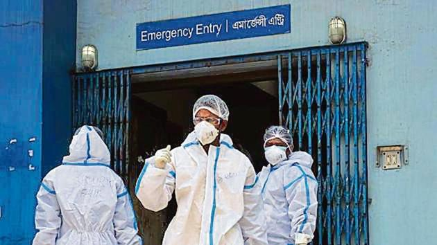 India saw 25,724 new cases of Covid-19 on Wednesday, its highest single-day tally thus far.(HT Photo)