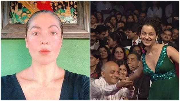 Pooja Bhatt is giving the 'facts' in her war with Kangana Ranaut on Twitter.