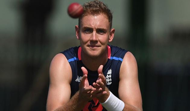 Stuart Broad had played the previous 51 home Tests.(Getty Images)