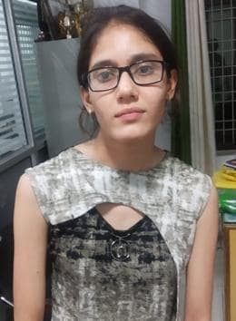 Rishita, topper of Board of School Education Haryana's (BSEH) Class 10 exams.