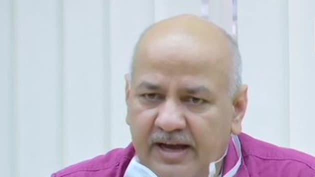File photo: Delhi deputy chief minister Manish Sisodia.(ANI)