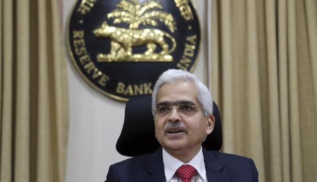 File photo: Reserve Bank of India (RBI) Governor Shaktikanta Das.(AP)