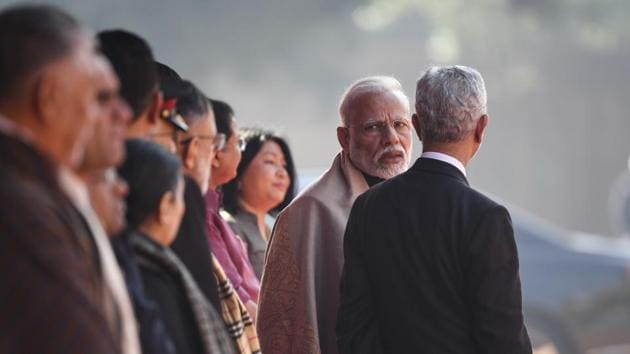 """External affairs minister Subrahmanyam Jaishankar on Saturday described the """"disengagement and de-escalation"""" process with China as """"work in progress"""".(AFP)"""
