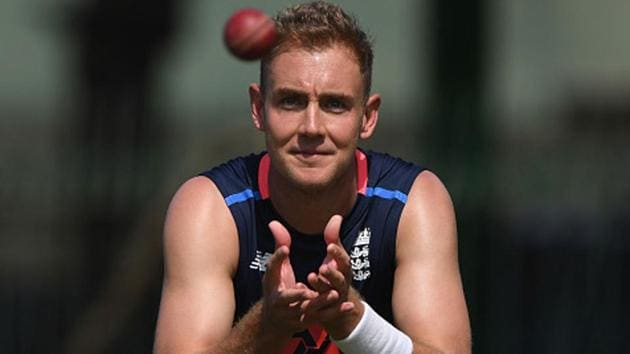 Before the Southampton Test, Stuart Broad had played the last 51 Tests for England at home.(Getty Images)