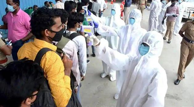 The new cases were detected as Nepal continues to see a surge in the number of patients recovering from the contagious coronavirus.(ANI file photo)