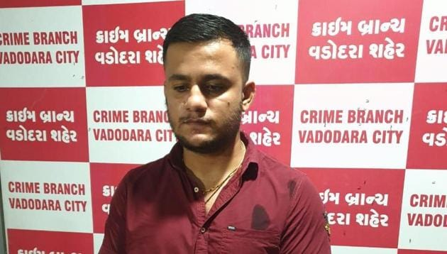 Shubham Mishra later took down the video and apologised for the abusive comments he made against Agrima Joshua.(@Vadcitypolice/Twitter)