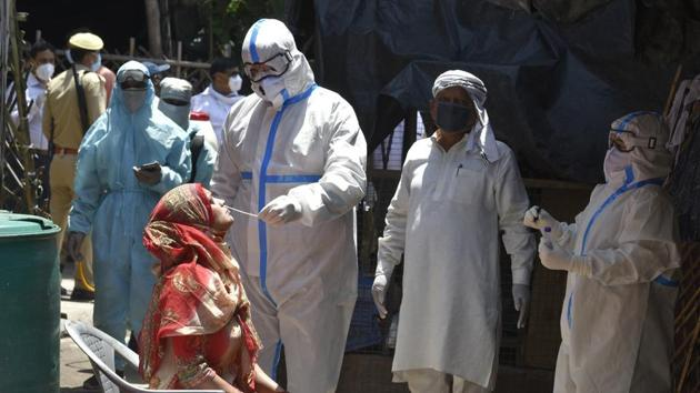 Public hearings, which give an opportunity to the community to make objections and suggestions on large infrastructure projects, are suffering because of the raging Covid-19 pandemic(HT Photo)