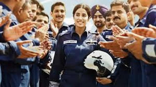 Gunjan Saxena The Kargil Girl will release on Independence Day.