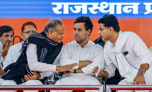 This is not about Rajasthan. It is not about Ashok Gehlot or Sachin Pilot's strengths and weaknesses. It is about the Congress and its leadership(PTI)