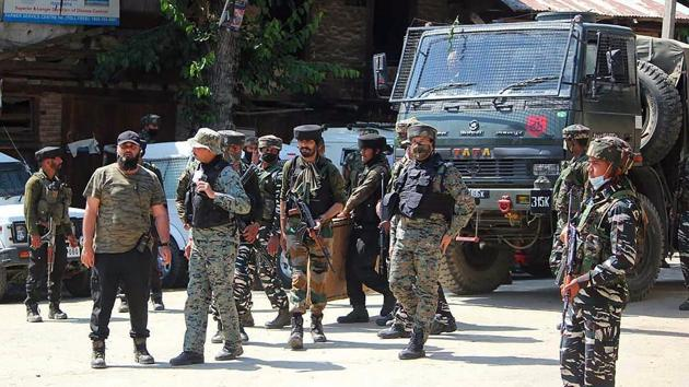 BJP state spokesman Altaf Thakur has blamed terrorists for the abduction of Malla.(ANI)