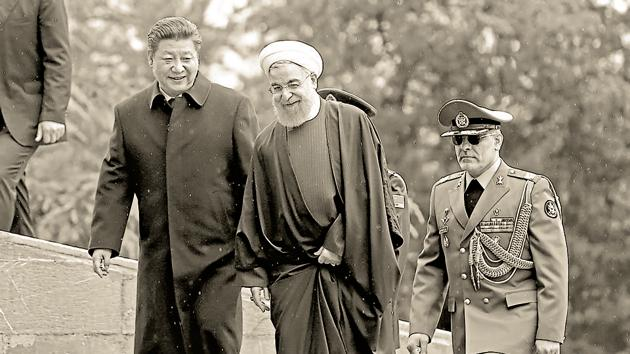 Iran's proposed long-term alignment with China has domestic opponents, who fear the loss of sovereignty(AP)